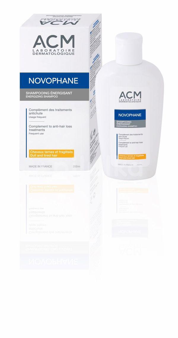 Șampon energizant pentru păr fragil Novophane, 200 ml