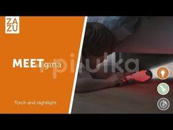 Lampa de Veghe cu Lanterna Gina Albastra