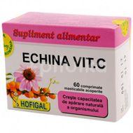 Echina Vitamina C, Hofigal, 60 comprimate