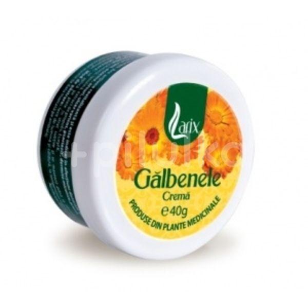 Crema de galbenele, Larix, 40g