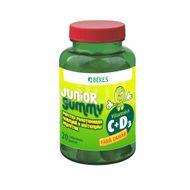 Vitamina C + D3 Junior Gummy, Beres Pharmaceuticals Co, 20 cpr gumate