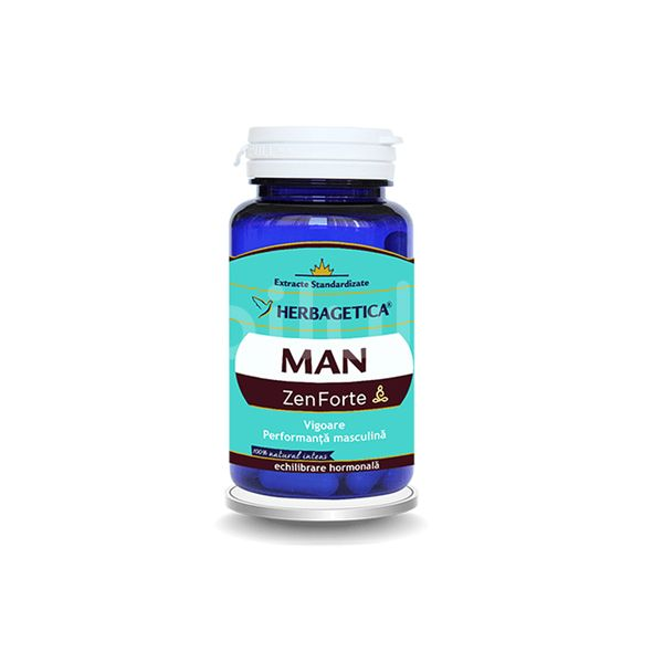 Man Zen Forte, Herbagetica, 60 cps