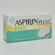 Aspirin plus C 400mg, Bayer, 10cpr efervescente