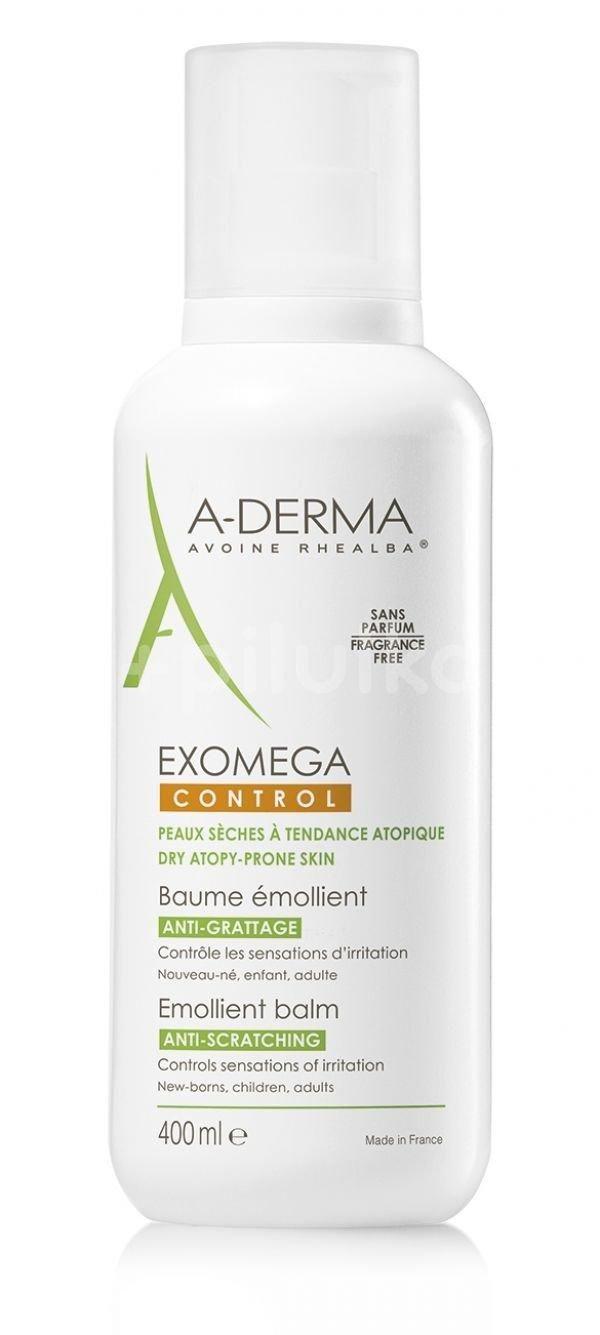 Balsam emolient anti-prurit Exomega Control, 400 ml