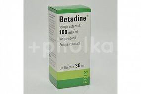 Betadina solutie, 30ml