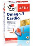 Supliment alimentar Doppelherz Omega 3 Cardio,  60 cps