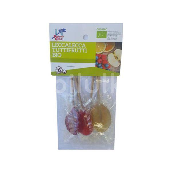 ECO Acadele Lollypops cu fructe (cu sirop de orez) 50gr