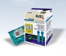 HEALTHYLINE Ace cu cap sigilat pentru glicemie 100 Buc SHL A 100
