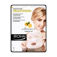 Masca pentru fata cu efect de luminozitate pe suport textil, Iroha