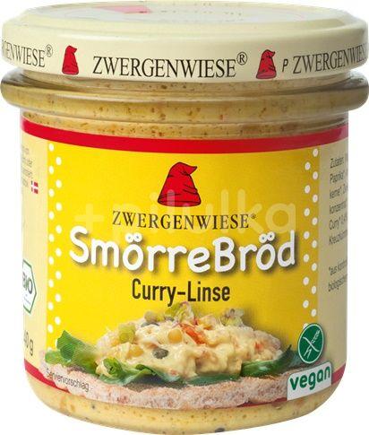 Gustare cu curry si linte bio fara gluten Zwergenwiese