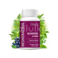 Resveratrol cu Seleniu 450 mg, Zenyth, 30 cps