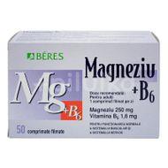 Magneziu + B6, Beres, 50cpr + 10cpr CADOU