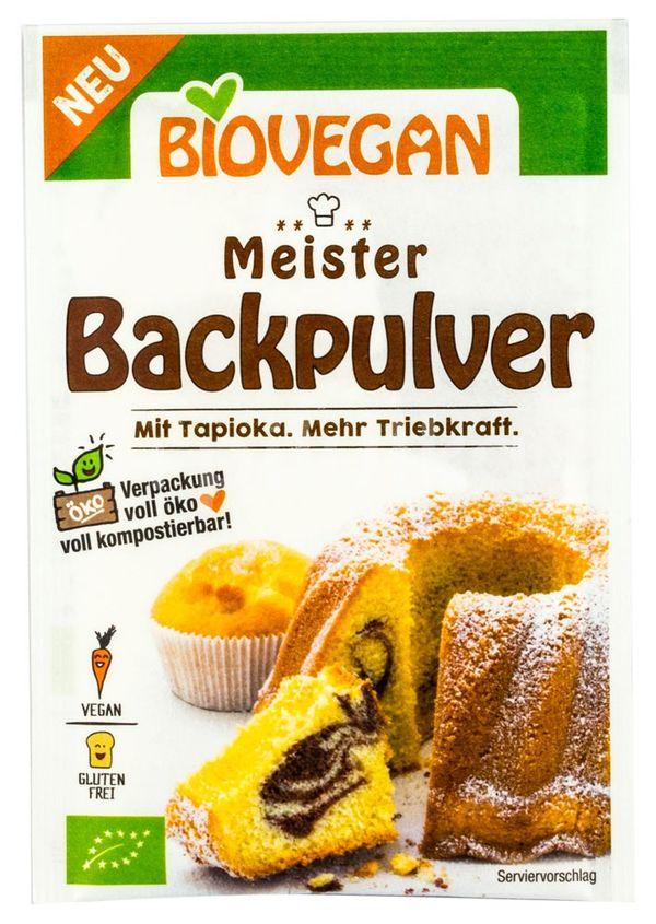 Praf de copt fara gluten Bio Maister, Biovegan, 17g