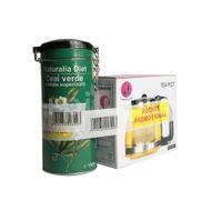 Ceai Verde Superior, 100 gr + Ceainic, 1250 ml PROMO, Naturalia Diet