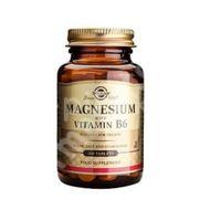Magneziu cu Vitamina B6, Solgar, 100tb