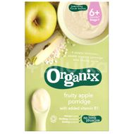 Organix Cereale-Orez integral &Porumb+Mere*120g ,4+