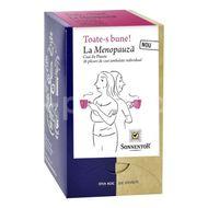 Ceai BIO Toate-s Bune! La Menopauza, Sonnentor, 18 plicuri