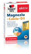 Doppelherz Magneziu + Calciu + D3, 30 tablete