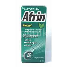 AFRIN MENTOL 0,5 mg/ml spray nazal X 15 ml