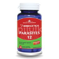 Parasites 12 Detox Forte, Herbagetica, 30 cps