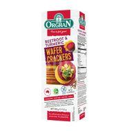 Crackers din sfeclă și turmeric, Orgran, 100 g