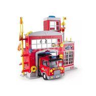Staƫie de pompieri cu efecte luminoase si sonore