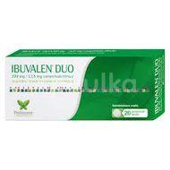 IBUVALEN DUO 200 mg/12,8 mg X 20 compr.film.