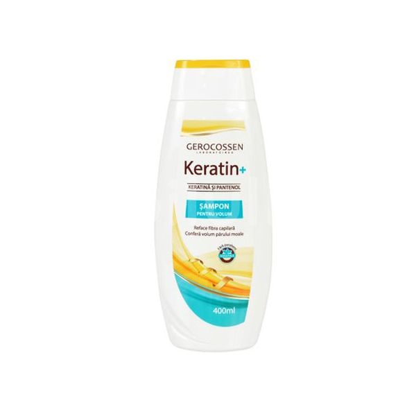 Șampon Keratin+ pentru volum, Gerocossen, 400 ml