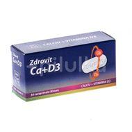 Calciu + Vitamina D3, 50 comprimate