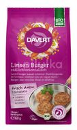 Burger vegan cu linte si curry bio 160g DAVERT , Davert