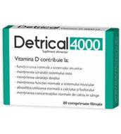 Detrical D3 4.000 IU, Zdrovit, 60cpr