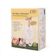 Kit mulaj organic pentru amprenta mana sau picior bebelusi Grunspecht 678-00