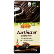 Ciocolata neagra indulcita doar cu xylitol 55% cacao, 100g Birkengold