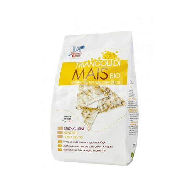 ECO Snack triunghiular din porumb 100g (fara gluten)