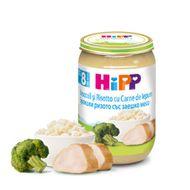 Risotto cu broccoli și iepure, Hipp, 220 g