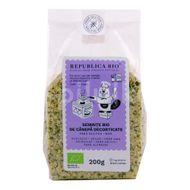 Semințe decorticate de cânepă Bio fără gluten, Republica Bio, 200 g