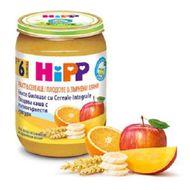 Gustare cu fructe- Eco- Fructe cu cereale, Hipp, 190 g