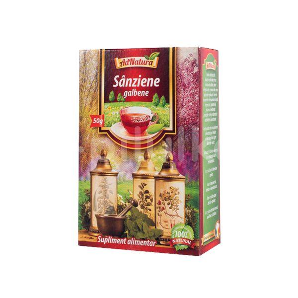 Ceai de sânziene galbene, AdNatura, 50 gr