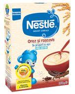 Cereale Nestle Orez cu orez și roșcove fără gluten, 250 g