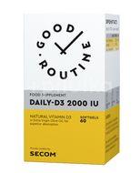 Daily-D3 2000 IU 60 soft gels