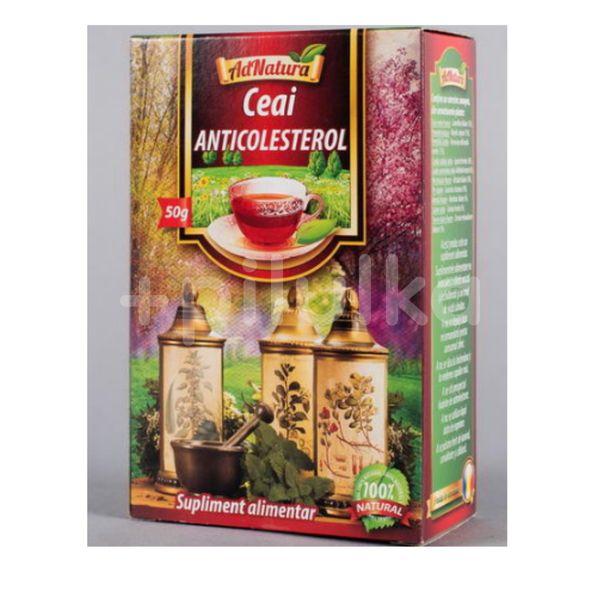 Ceai anticolesterol 50g, Adserv