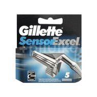 Rezervă Aparat De Ras Sensor Excel, Gillette, 5 buc