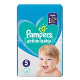 Scutece Pampers Active Baby 5. Junior small pack, 11 buc