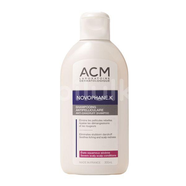 Șampon antimatreață cronica ACM Novophane K, 300 ml