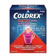 Coldrex Maxgrip cu fructe de padure si mentol, Gsk, 10 plicuri