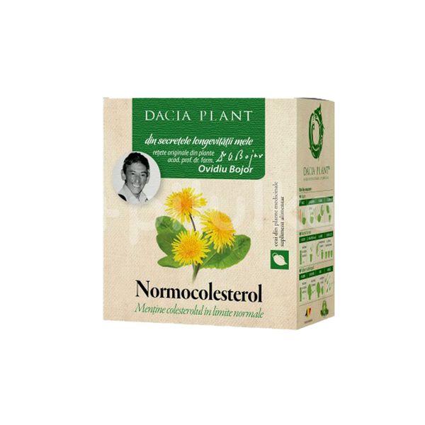 Ceai Normocolesterol- Formulă Nouă, Dacia Plant, 50 gr