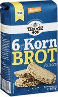 Mix de faina pentru paine integrala cu 6 cereale , BauckHof