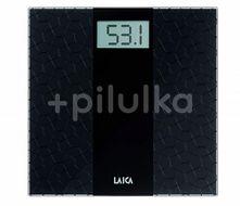 Cântar corporal electronic negru din sticlă PS5000, Laica, capacitate  180 kg