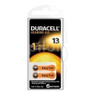 Baterie pentru aparat auditiv DA13,Duracell,  6buc