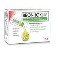 Bronhoklir Sirop De Tuse productivă, Stada OTC, 15 plicuri, 5 ml